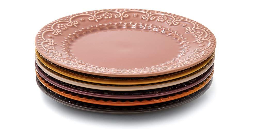 Kit com 6 pratos rasos, Acervo Panelinha